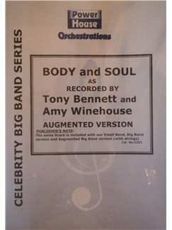 Tony Bennett: Body And Soul Books | Big Band & Concert Band