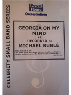 Michael Buble: Georgia On My Mind (Arr. Cy Payne) Books | Big Band & Concert Band