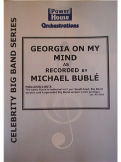 Michael Buble: Georgia (On My Mind) (Arr. Cy Payne) Books | Big Band & Concert Band