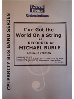 Michael Buble: I've Got The World On A String Books | Big Band & Concert Band