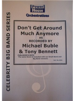 Tony Bennett: Don't Get Round Much Anymore (Arr. Cy Payne) Books | Big Band & Concert Band