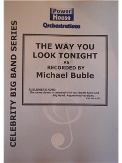 Michael Buble: The Way You Look Tonight Books | Big Band & Concert Band