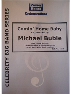 Michael Buble: Comin' Home Baby (Arr. Cy Payne) Books | Big Band & Concert Band