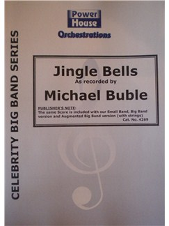 Michael Buble: Jingle Bells (Arr. Cy Payne) Books | Big Band & Concert Band