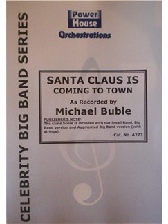Michael Buble: Santa Clause Is Coming To Town Books | Big Band & Concert Band