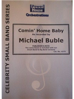 Michael Buble: Call Me Irresponsible (Arr. Cy Payne) Books | Big Band & Concert Band