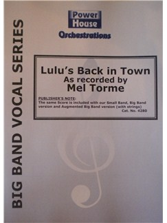 Mel Tormé: Lulu's Back In Town (Arr. Cy Payne) Books | Big Band & Concert Band