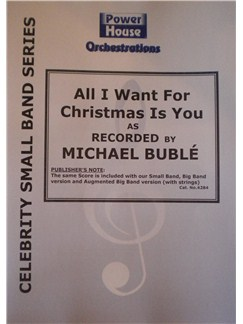 Michael Buble: All I Want For Christmas Is You (Arr. Cy Payne) Books | Big Band & Concert Band
