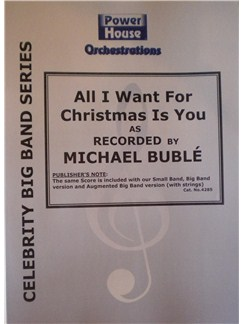 Michael Buble: All I Want For Christmas Is You Books | Big Band & Concert Band