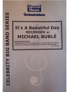 Michael Buble: It's A Beautiful Day (Arr. Cy Payne) Books | Big Band & Concert Band