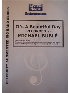 Michael Buble: It's A Beautiful Day Books | Big Band & Concert Band