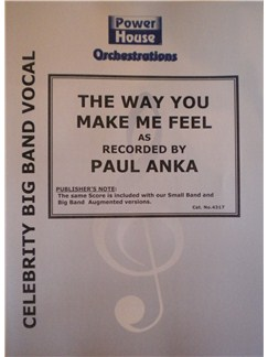 Paul Anka: The Way You Make Me Feel Books | Big Band & Concert Band