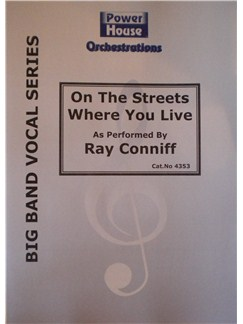 Ray Conniff: On The Street Where You Live Books | Big Band & Concert Band
