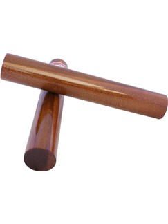 Percussion Plus: Grenadilla Claves - Pair Instruments | Percussion