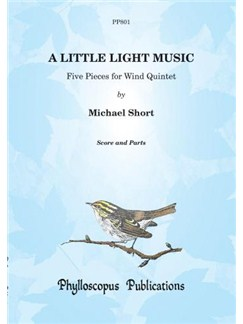 Michael Short: A Little Light Music for Wind Quintet Books | Wind Quintet