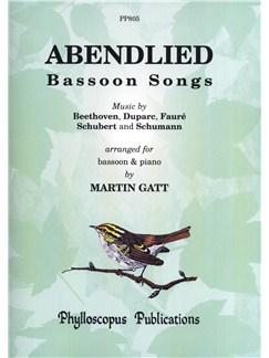 Abendlied: Bassoon Songs Books | Bassoon, Piano Accompaniment