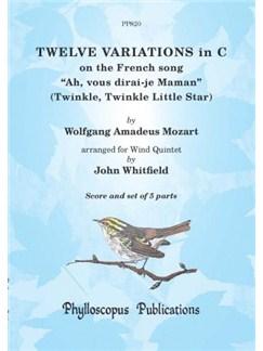 Wolfgang Amadeus Mozart: Ah, Vous Dirai-Je Maman - Wind Quintet (Arr. John Whitfield) Books   Wind Quintet