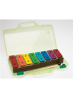 Percussion Plus: Chime Bar Set in Carry Case Instruments | Chimes