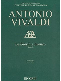 Antonio Vivaldi: La Gloria E Imeneo, RV 687 (Full Score) Books | SATB, Violin, Viola