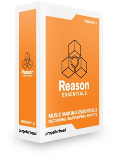 Reason Essentials 1.5 CD-Roms / DVD-Roms |