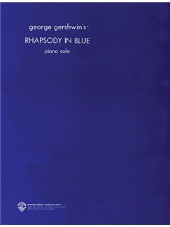 George Gershwin: Rhapsody In Blue (Piano Solo) Books | Piano