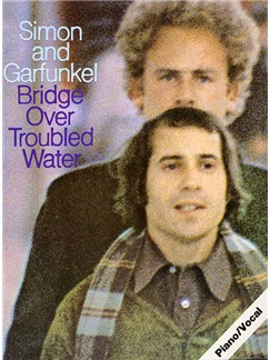 Simon And Garfunkel: Bridge Over Troubled Water Livre | Piano, Chant et Guitare (Symboles d'Accords)