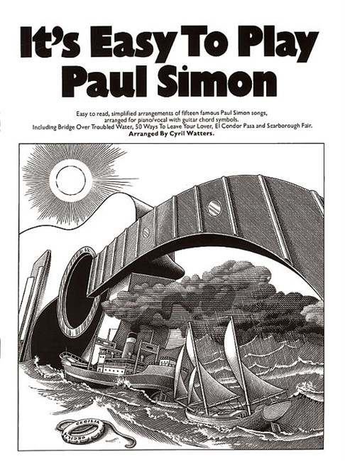 It\'s Easy To Play: Paul Simon - Piano, Vocal & Guitar Sheet Music ...