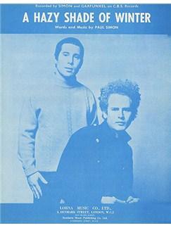 Simon & Garfunkel: A Hazy Shade Of Winter (PVG) Books | Piano, Vocal & Guitar