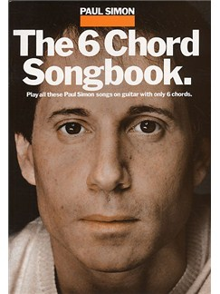 Paul Simon: The 6 Chord Songbook Books | Lyrics & Chords, with guitar chord boxes