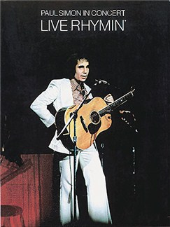 Paul Simon: In Concert Live Rhymin' Books | Piano, Voice, Guitar
