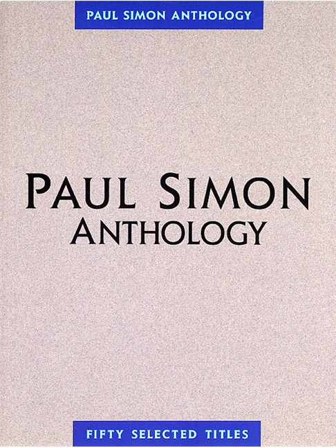 Paul Simon Anthology - Piano, Vocal & Guitar Sheet Music - Sheet ...