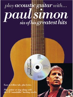 Play Acoustic Guitar With... Paul Simon Books and CDs | Guitar Tab, with chord symbols