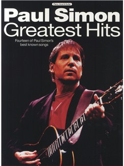 Paul Simon Greatest Hits Books | Piano and Voice, with Guitar chord boxes
