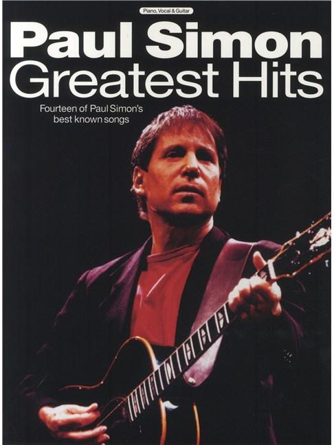 Paul Simon Greatest Hits - Piano, Vocal & Guitar Sheet Music - Sheet ...
