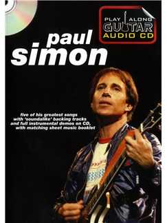 Play Along Guitar Audio CD: Paul Simon CD y Libro | Guitarra, Acorde de Guitarra