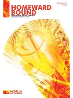 Simon & Garfunkel: Homeward Bound (SSA/Piano) Books | SSA, Piano Accompaniment