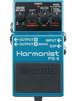 Boss: PS-6 Harmonist Pedal  | Electric Guitar
