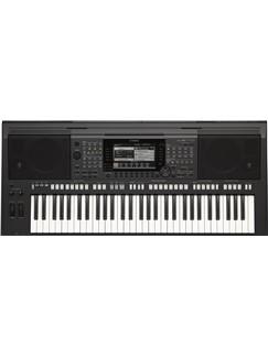 Yamaha: PSRS770 Keyboard - Black Instruments | Keyboard