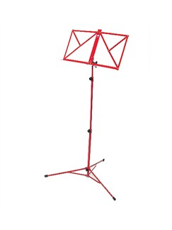 Pure Tone: Three Section Music Stand (Red)  |