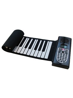 Pure Tone Roll-Up Piano: Multi-Function Electronic Keyboard (European Plug) Instruments | Digital Piano, Keyboard