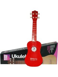 Pure Tone: Ukulele Pack (Red) Instruments | Ukulele