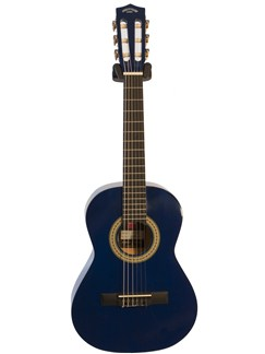 Pure Tone: 1/2 Size Classical Guitar (Blue) Instruments | Classical Guitar