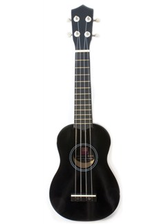 Pure Tone: Ukulele (Black) Instruments   Ukulele