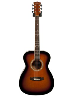 Pure Tone: Folk Acoustic Guitar (Tobacco Sunburst) Instruments | Acoustic Guitar