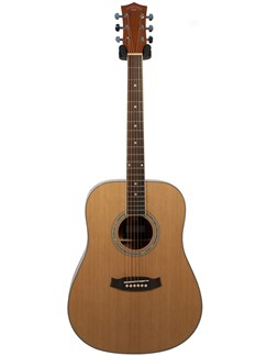 Pure Tone: Dreadnought Acoustic Guitar (Natural) Instruments | Acoustic Guitar