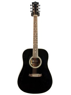 Pure Tone: Dreadnought Acoustic Guitar (Black) Instruments | Acoustic Guitar