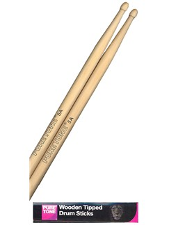 Pure Tone: Drum Sticks 5A (Wood Tip)  | Drums