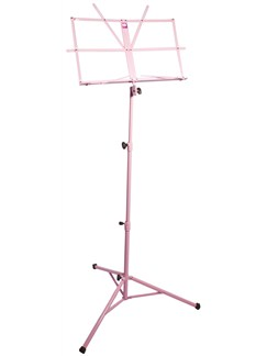 Pure Tone: Music Stand with Case (Pink)  |