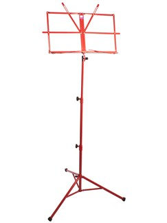 Pure Tone: Music Stand with Case (Red)  | Voice