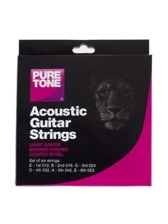 Pure Tone: Jeu Cordes Guitare Acoustique (Tirant Léger)  | Guitare Acoustique